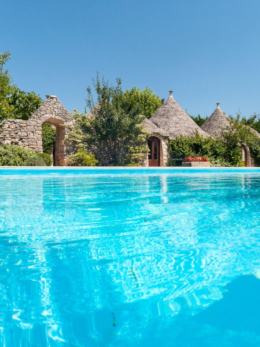 case vacanze in puglia, trulli con piscina, ville e appartamenti